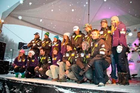 2012 U.S. Alpine Ski Team Roster. Name, Date of Birth, Hometown, Club (Skis, ...